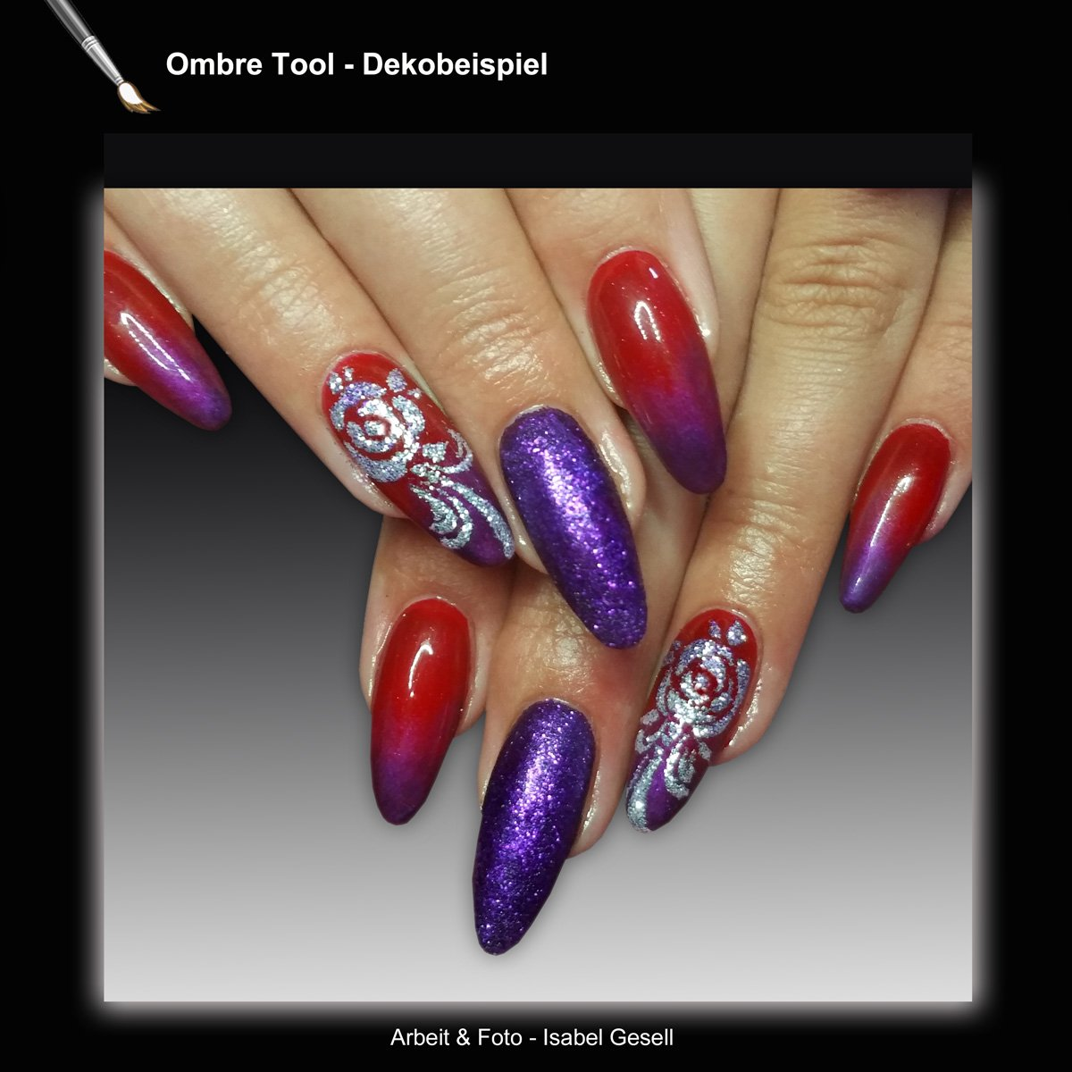 Nail Art, Nageldesign, Baby Boomer, Ombre-Tool: Amazon.de: Beauty