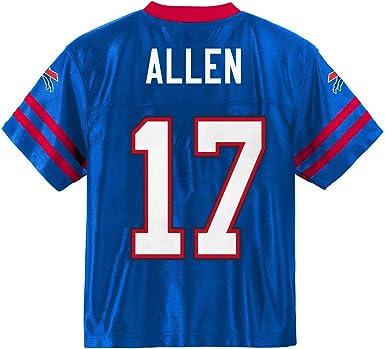 Josh Allen Buffalo Bills #17 Blue Youth Player Home Jersey