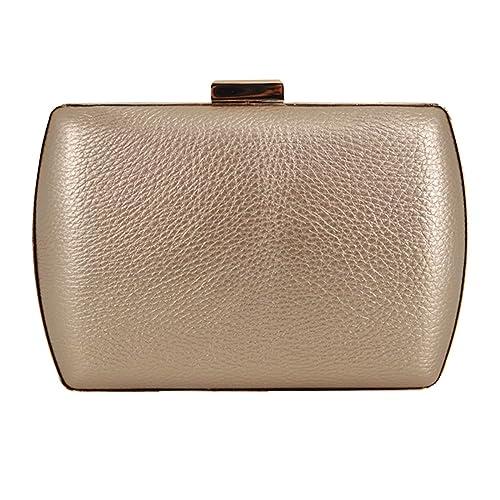 fb4a0ed2f8 Amazon.com  Fashion Elegant Women Evening Clutch Handbag Wedding Clutch Box Makeup  Bag Lipstick Bag Purse With Chain Strap  Shoes