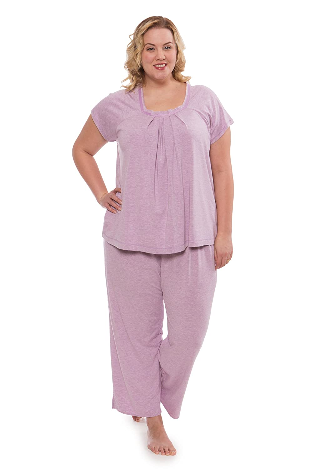 Women s Pajamas in Bamboo Viscose (Bamboo Bliss) Cozy Sleepwear Set by  Texere 40a6f1dbb