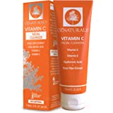 OZNaturals Vitamin C Face Wash: Natural Facial Cleanser for Oily, Dry, and Sensitive Skin - Paraben Free Face Cleaner…