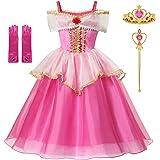 Amazon.com: Disfraz de Cenicienta de princesa para niñas de ...