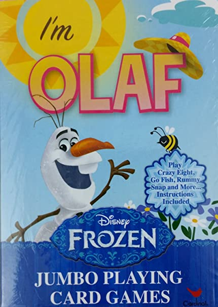 Amazon.com: Disneys Frozen im Olaf Juego de cartas con ...