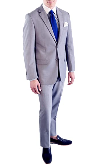 Ferrecci Zonettie Mens 2 pc 2 Button Premium Slim Fit Suits at ...