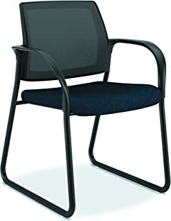 product image for HON Ignition Guest/Multi-Purpose Sled Base Chair with Mesh Back for Office or Computer Desk, Mariner