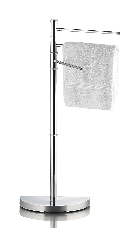 32,5 x 86 x 17,5 cm Handtuchstange verchromt ideal f/ürs Badezimmer Handtuchst/änder mit 3 Stangen ca Handtuchhalter f/ür Hand- und G/ästet/ücher