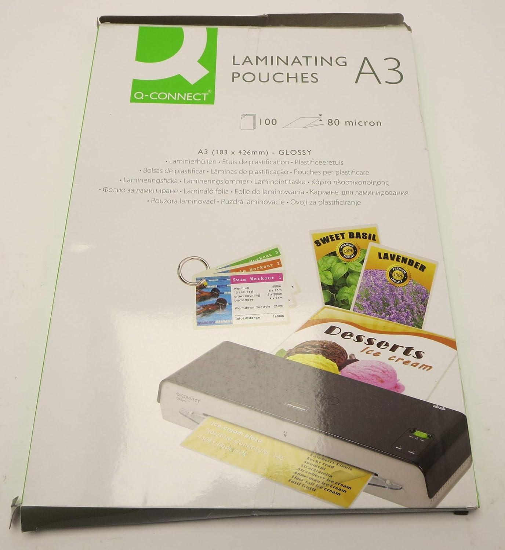 Connect Lamination film 100 micron 303 x 426 mm - Película de laminación (303 mm, 426 mm, 100 pieza(s))