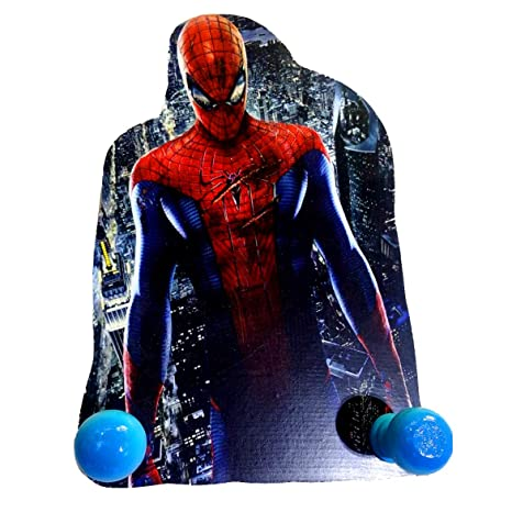 VINNS - Perchero de Madera de Spiderman con 2 pomos: Amazon ...
