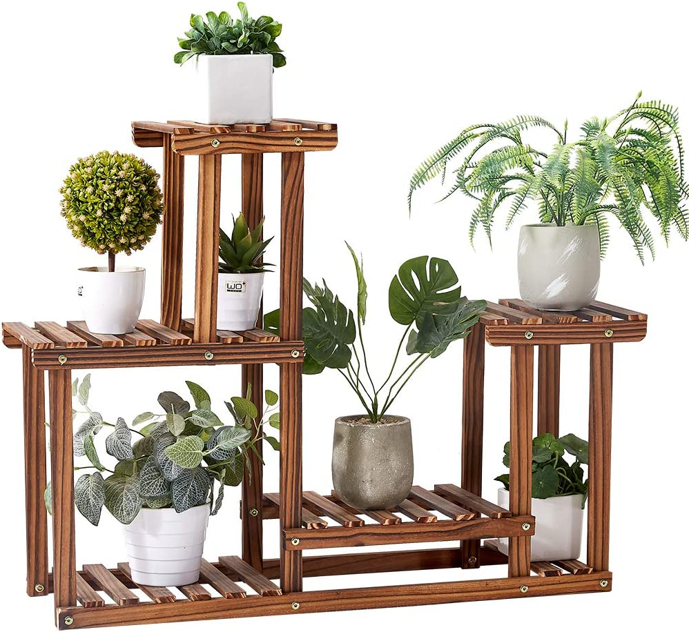 14 Colours To Choose From Hand-Built To Order Home Decor Wooden Rustic Plant Stand