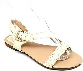 0b19a547779e Steven Ella ZY-02 Women s Sandals with braiding Detail