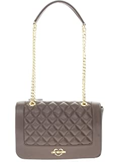 718d52fdaf7c Amazon.com  LOVE Moschino Women s Fashion Stripes Quilted Shoulder ...