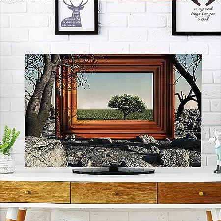 Leighhome - Campo de Girasol para Proteger tu televisor con una ...