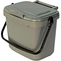 All-Green Bac de Compost pour Cuisine, Argent/Grey-Parent