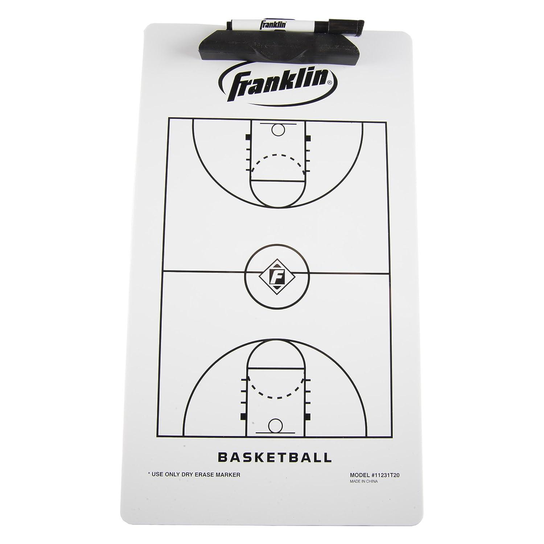 Franklin Sports Basketball Coach Clip Board, 15.75x9-Inch 11231