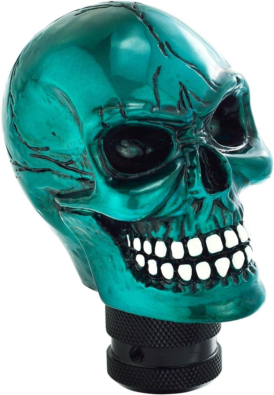 Devil Head Shape Stick Shift Knobs for Universal Manual Truck SUV Car Beige Bashineng Skull Gear Shifter Knob