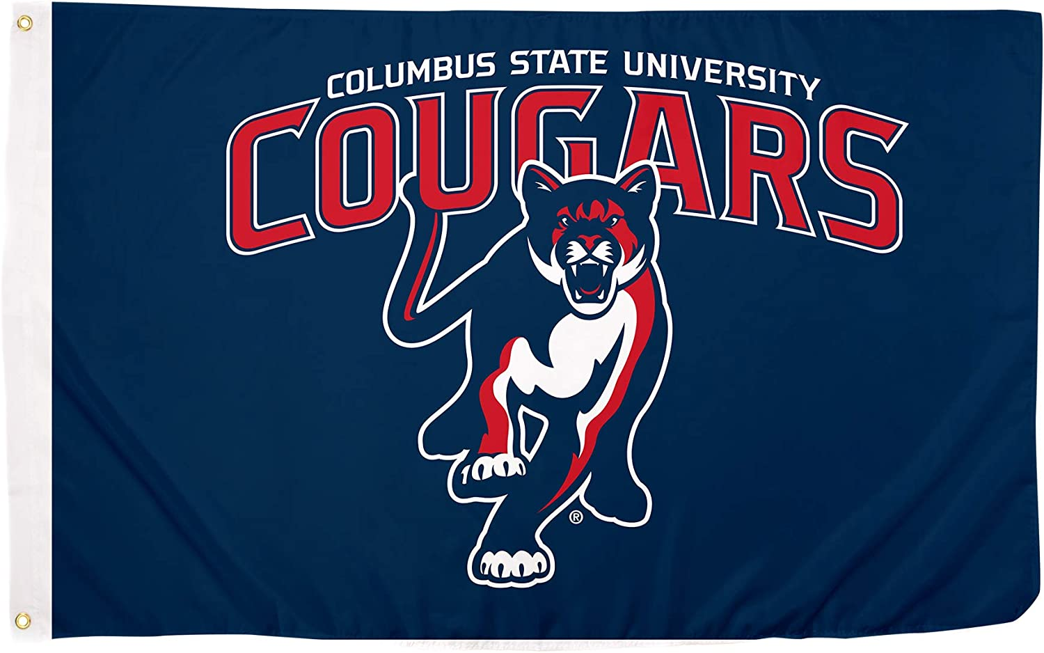 Desert Cactus Columbus State University Cougars NCAA 100% Polyester Indoor Outdoor 3 feet x 5 feet Flag
