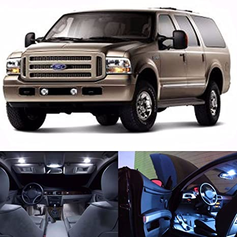 Led White Lights Interior Package Kit For Ford Excursion  Bulbs