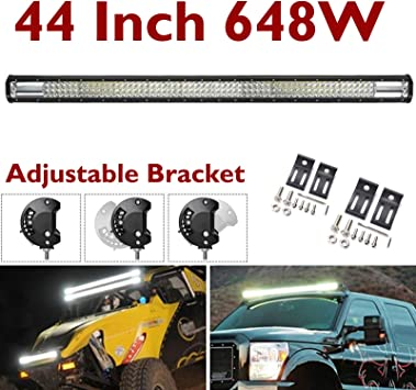 """40/"""" inch 400W Combo LED Light Bar Off Road Driving Work Boat 4WD 5W LED/'s"""
