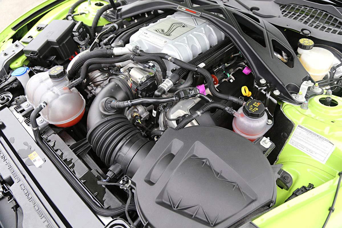 2020 Shelby GT500 5.2L M-6067-M52S Aluminum Cam Covers