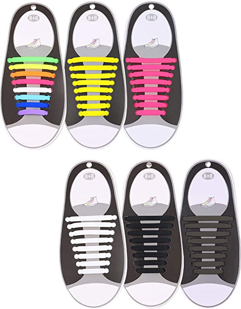look good shoes sale cute new styles Amazon.com: Hestya 6 Pairs No Tie Shoelaces for Kids and Adults ...