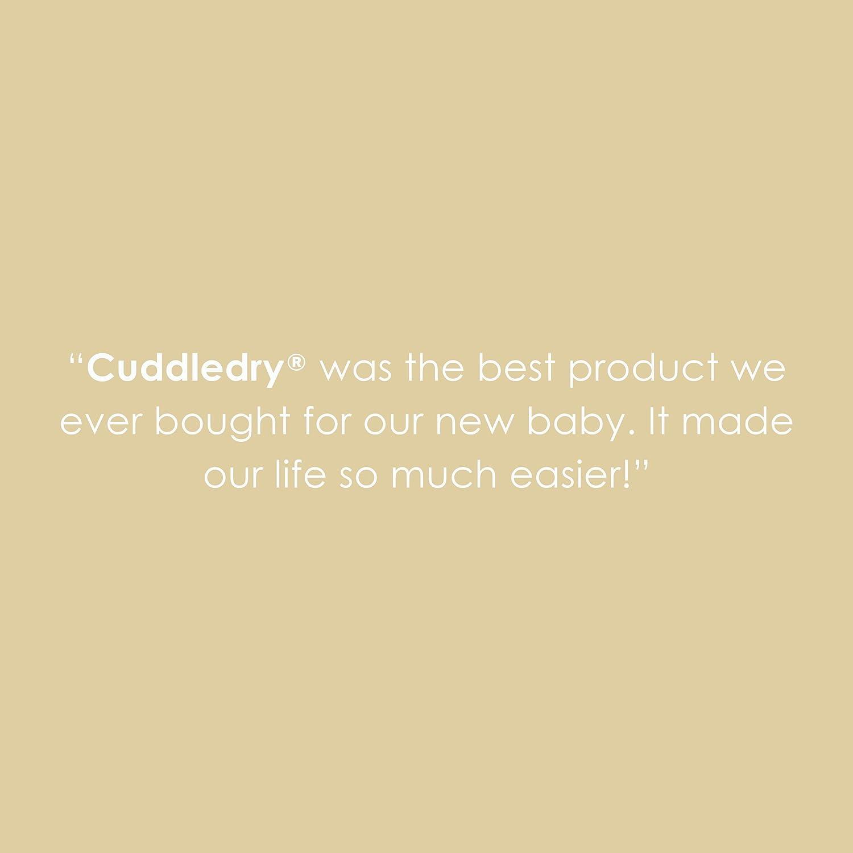 cuddledry BC01 Das Original-Sch/ürzen-Babybadetuch blau//wei/ß