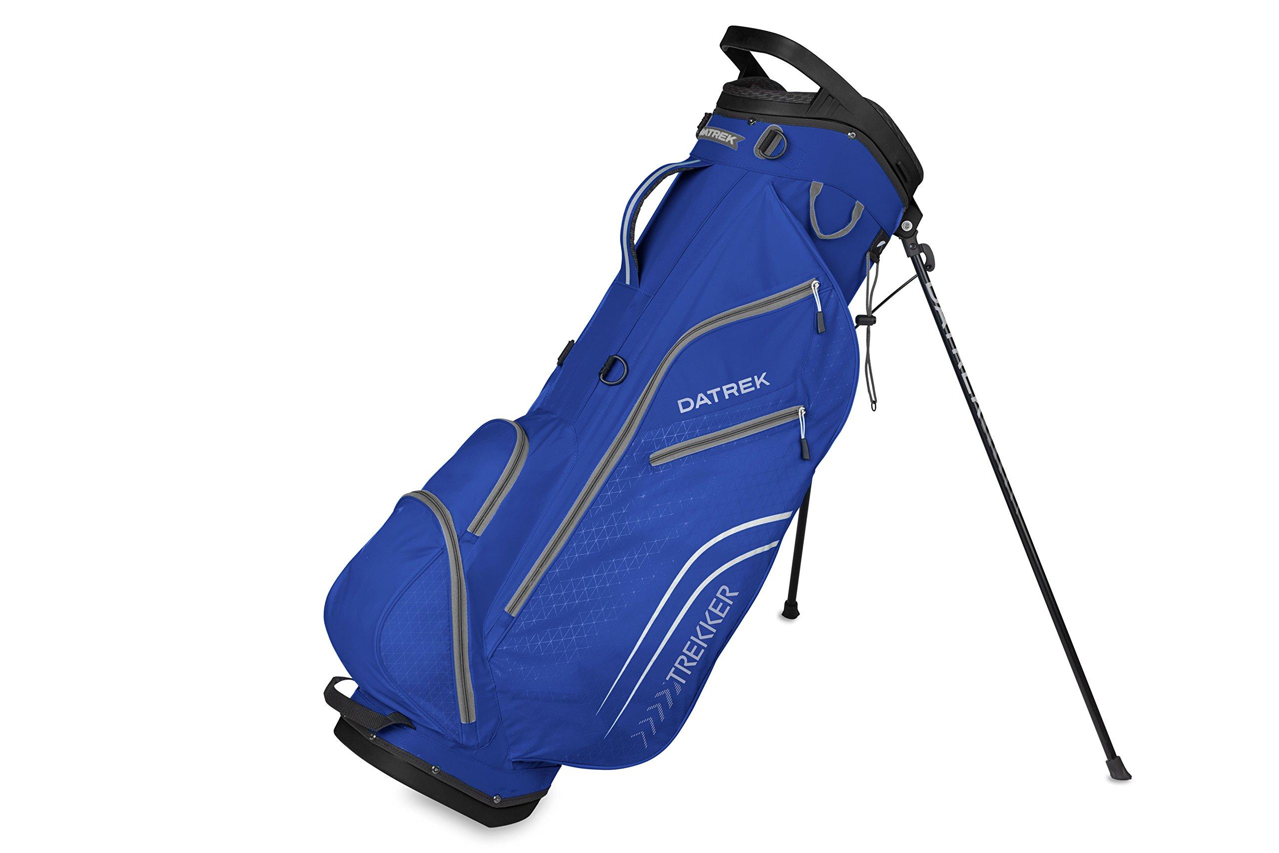 Datrek Golf Trekker Ultra Lite Stand Bag (Cobalt/Silver)