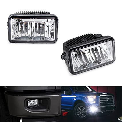 Ijdmtoy  High Power Osram Led Fog Light Replacement For  Up Ford