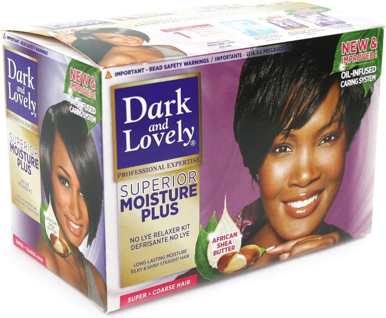 Dark & Lovely Kit alisador de crema hidratante plus súper brillante