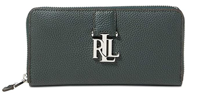 65fa7c27fd Image Unavailable. Image not available for. Colour  Lauren Ralph Lauren  Women s Carrington Zip Leather Wallet ...