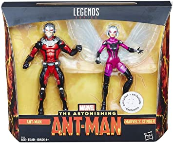 """Toys R Us exclusive 2 packs Marvel Legends Hasbro 6/"""""""