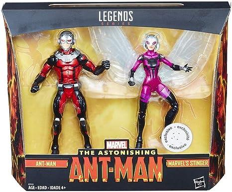 Marvel Legends Ant-Man and Stinger 6-Inch Action Figures 2-Pack ...