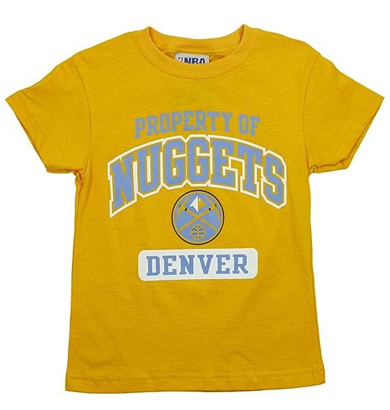 2b154b18f Denver Nuggets Nba Big Boys propiedad de nuggets camiseta