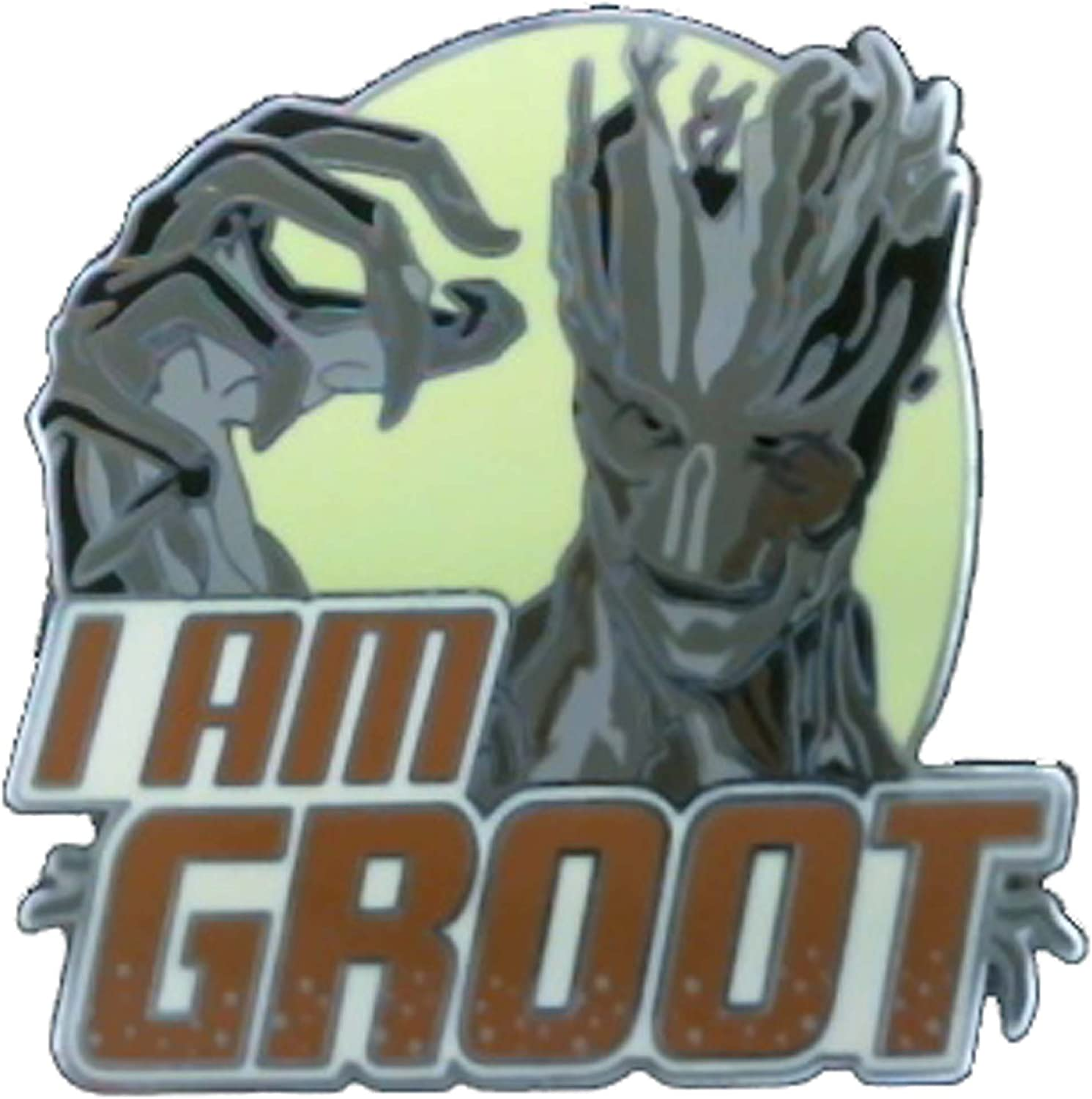 """New Disney Parks Marvel Guardians Of The Galaxy Groot /""""I Am Groot/"""" Pin"""
