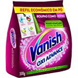 Tira Manchas em Pó Vanish Oxi Advance 330g Refil Econômico para roupas coloridas, Vanish, Rosa