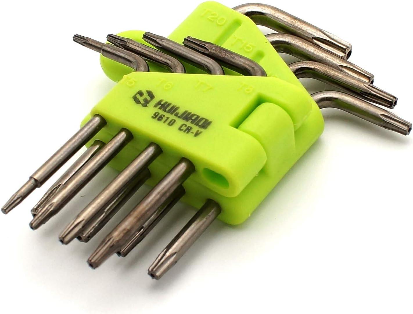 8/unidades llave hexagonal Juego de destornilladores Torx COHK brazo largo