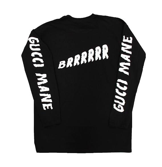 3dcfc8a8 Amazon.com: Gucci Mane Long Sleeve T-Shirt: Clothing