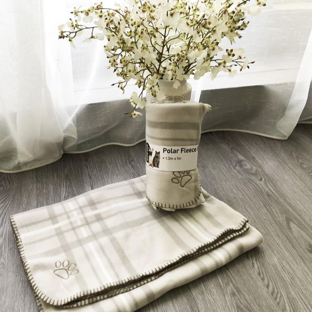 Aoligei Pet Big Blanket Dog Blanket Kennel mat 130x100cm Perfect for Sunbathing mat, Nap&Sleeping Bed