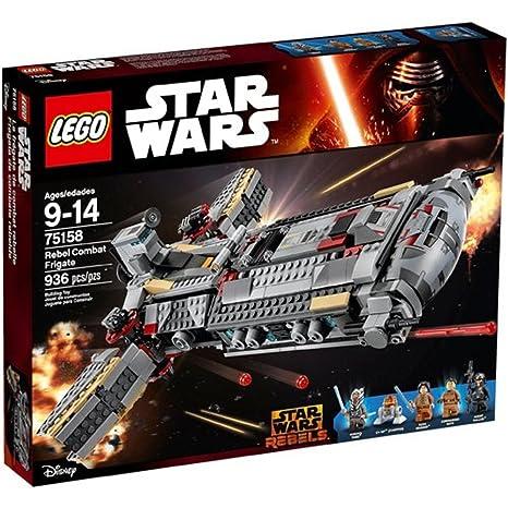 Construcción Rebel De Star Lego Frigate Wars Juegos Combat erCxdBWo