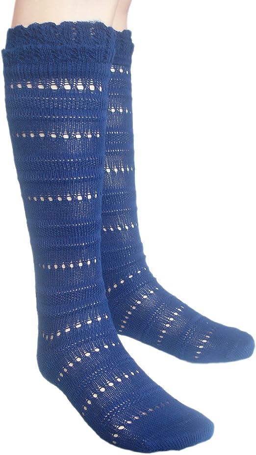JHosiery Ragazze pointelle calzini con cuciture piatte