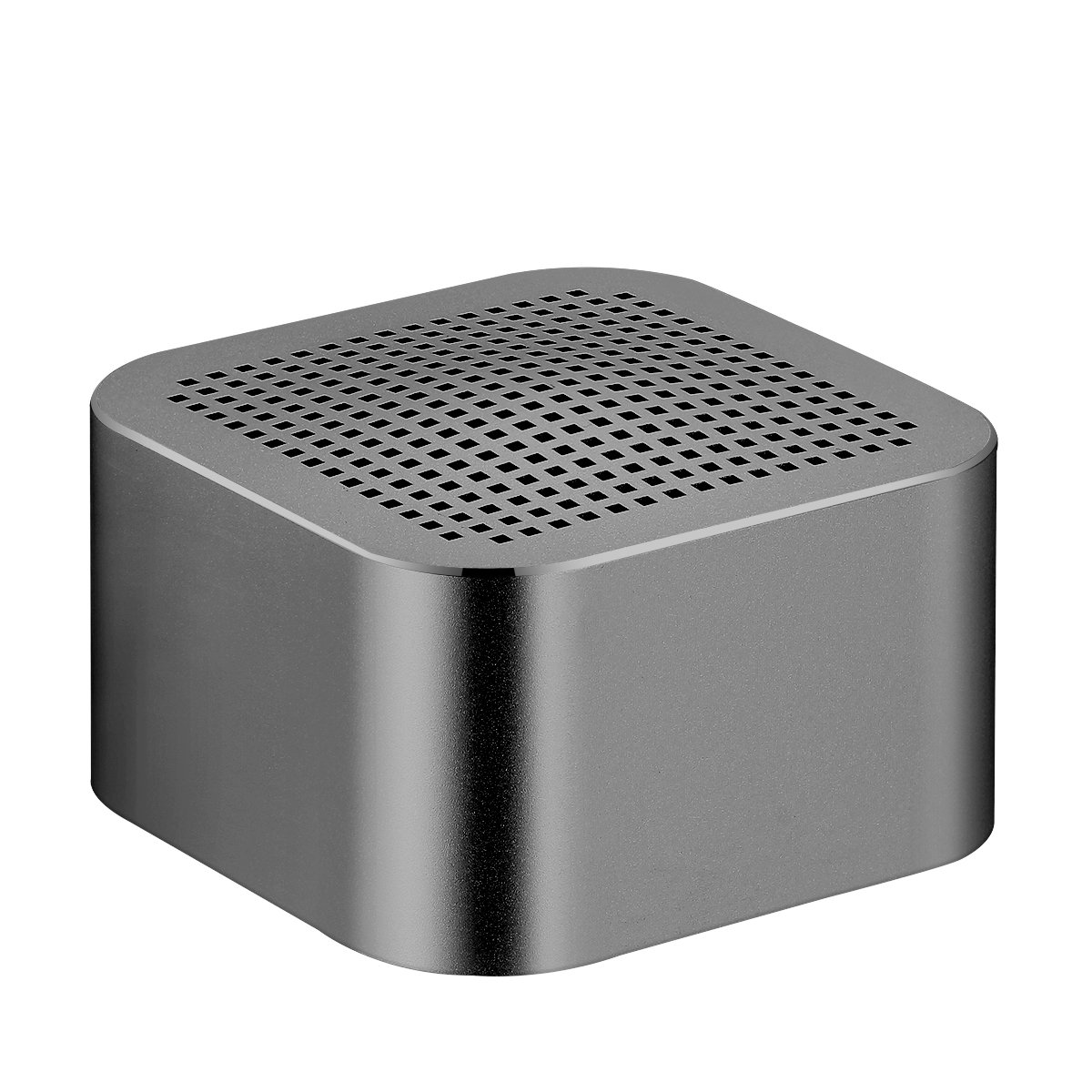SOONHUA MINI Bluetooth Speaker Square Wireless Bluetooth 4.0 Speaker Super Bass Stereo Sound Handsfree Call LED Indicator Built-in Mic Rechargeable Battery for Home Car Outdoor (Black)