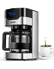 Aicook Cafetera, Cafetera de Goteo, Pantalla Táctil con Reloj, Cafetera Goteo Programable para