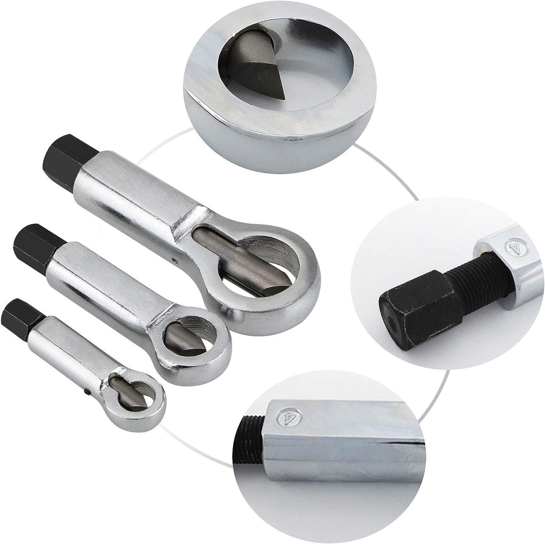 Eeekit Nussspalter Aus Metall Nussspalter Manueller Druck Mutter Entferner 9 12 Mm 12 16 Mm 16 22 Mm Nuss Entferner Werkzeug Küche Haushalt
