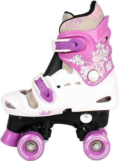 pointure 28 29 30 31 32 33 34 35 36 Patins /à roulettes r/églables pour enfant rollers disco.