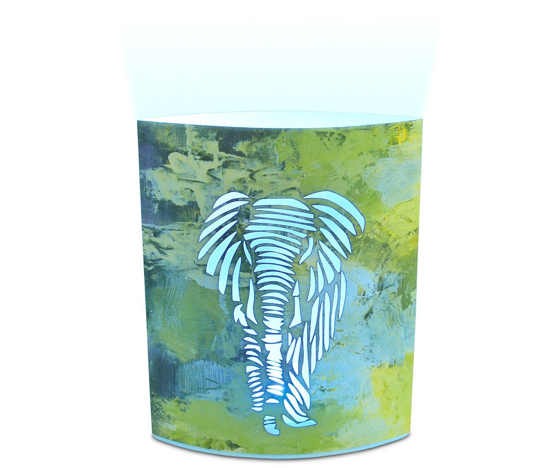 Puzzled Elephant LED Decorative Lanterns - Animal Theme - Elegant Unique Gift and Useful Souvenir - Item #9656