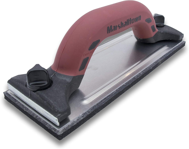 Schiuma Nero 239x82 mm Marshalltown 16320 Smerigliatrice Manuale DuraSoft con Impugnatura