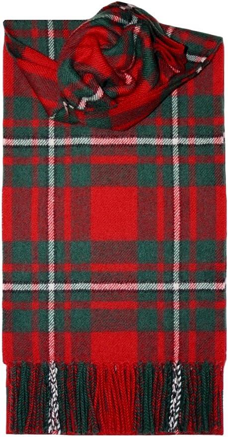 Nouveau long cou Fashion Holyrood moderne Tartan Scarf Scottish Wool Clan écharpes