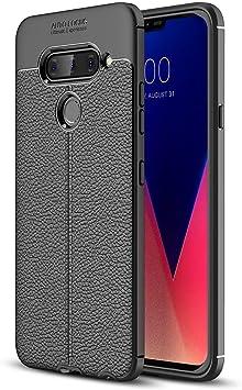 Boleyi Funda para LG V40 ThinQ, Carcasa Ligera Silicona Suave TPU ...