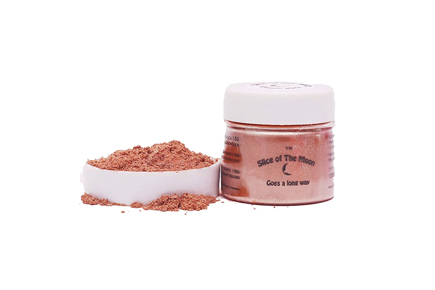 Bronze Mica Powder 1oz, Bronze Metallic Powder, Cosmetic Mica, Slice of the Moon EKS Entertainment Group EKS500BFBA