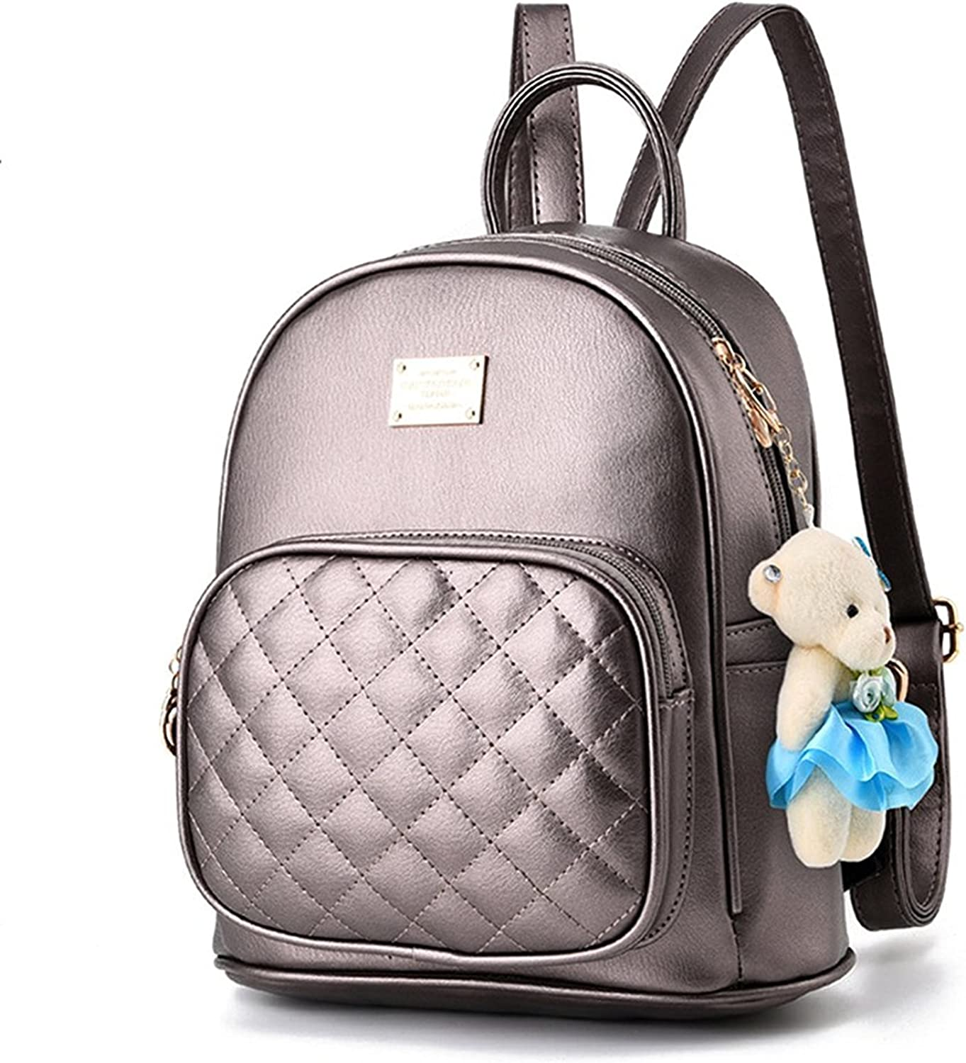 Women Cute Small Leather Backpack Purse Ladies Casual Satchel Travel Backpack for Girls