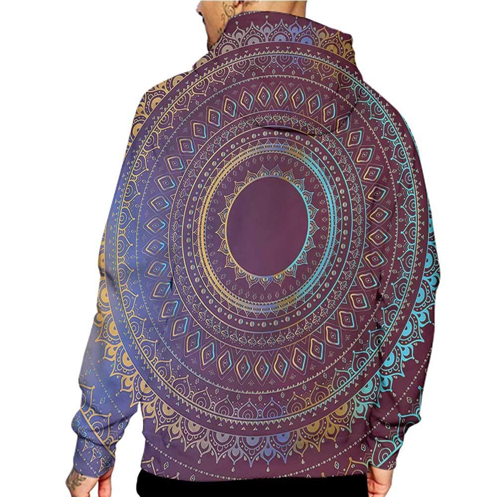 Hoodies Sweatshirt/Autumn Winter Luau,Hawaiian Hibiscus Leaves,Sweatshirts for Women Hanes